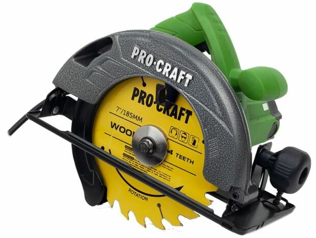 Circular electric de mana Procraft KR2300, 2.3 kW, 185 mm, 5000 rot/min